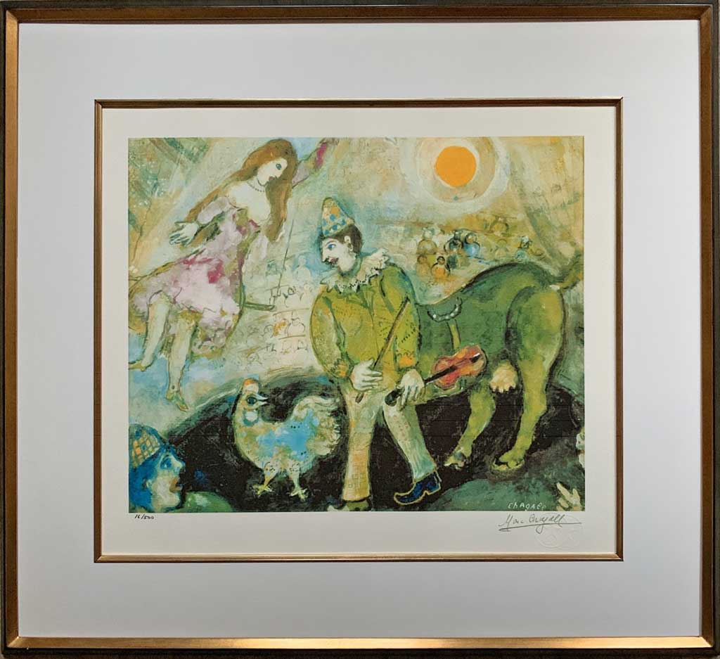 Noir filet or (Marc Chagall)